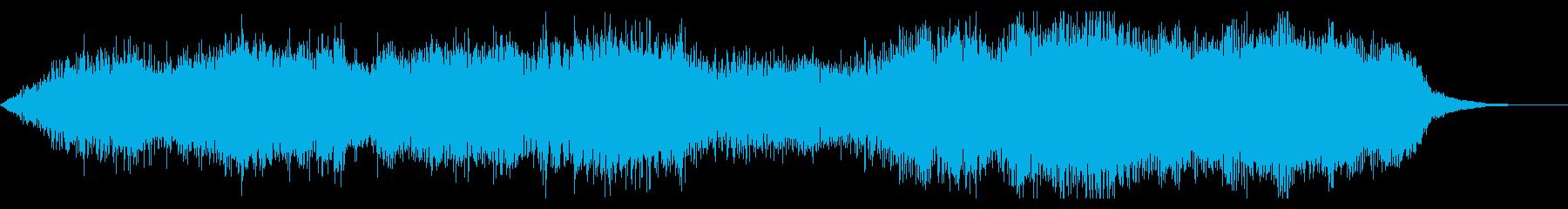 ダークでシネマチックなジングルの再生済みの波形
