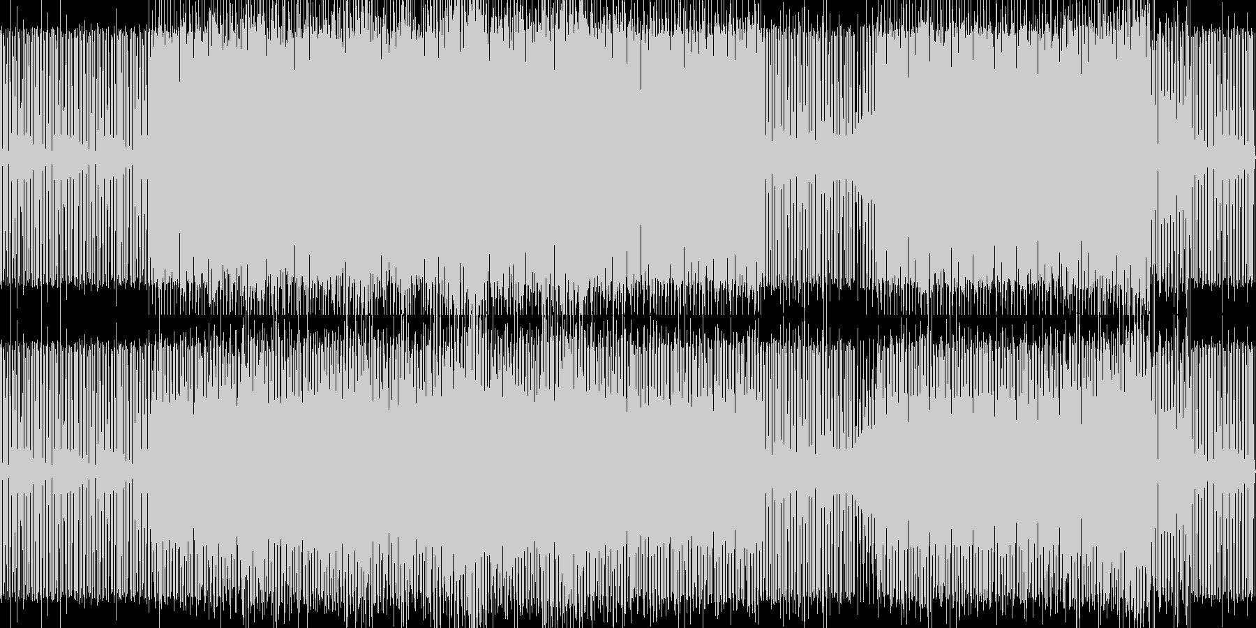 minimal house 12 の未再生の波形