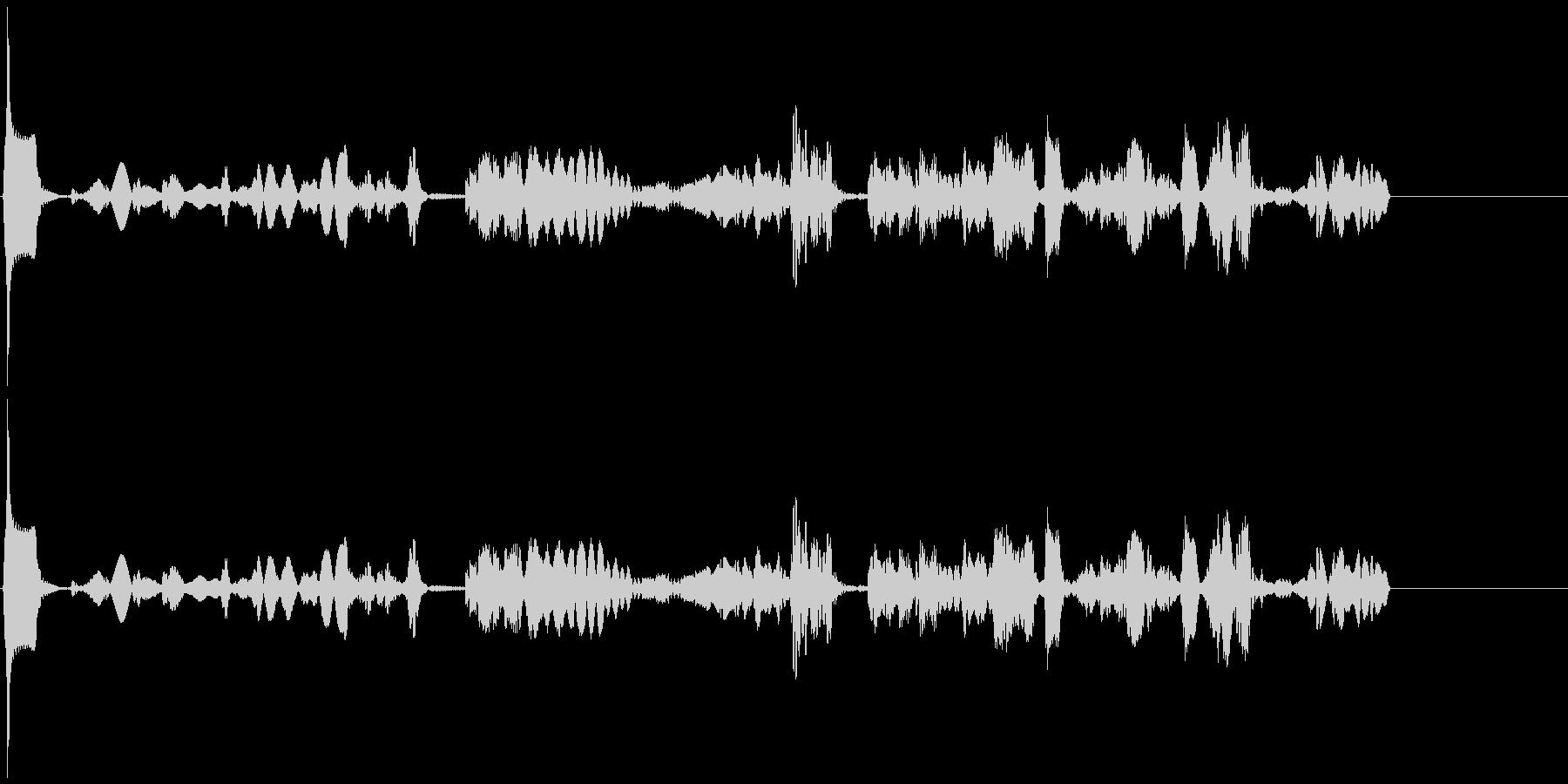【SE 効果音】機会的なノイズ2の未再生の波形