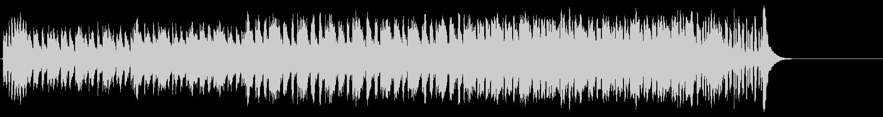 パニック映画風マイナードキュメントの未再生の波形