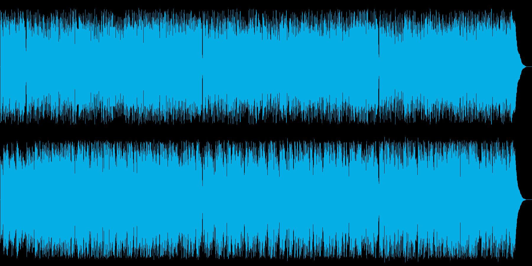 グリーンスリーブス(acoustic)の再生済みの波形