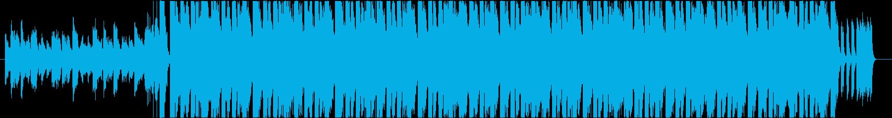 ジャジーで華やかなエレクトロスウィングの再生済みの波形