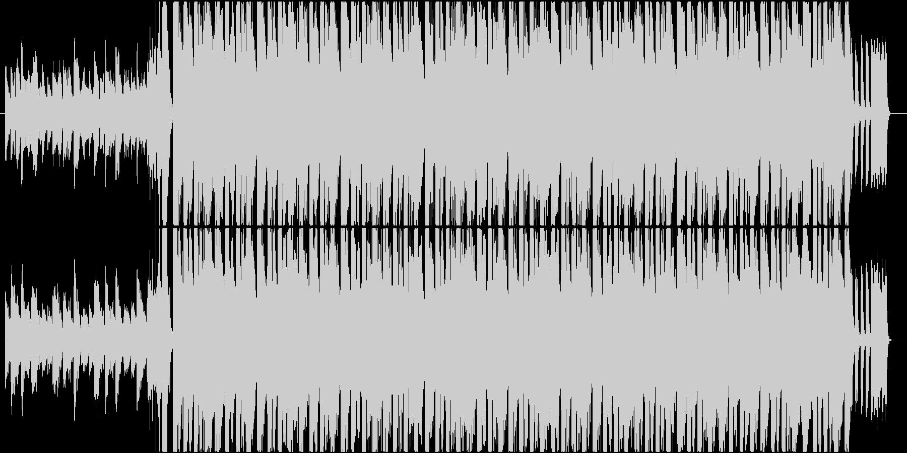 ジャジーで華やかなエレクトロスウィングの未再生の波形