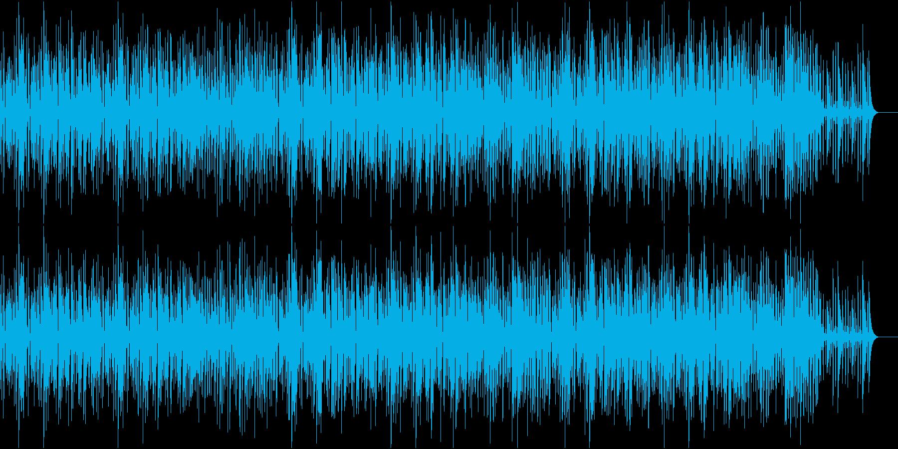 軽やかで楽しい雰囲気のジャズの再生済みの波形