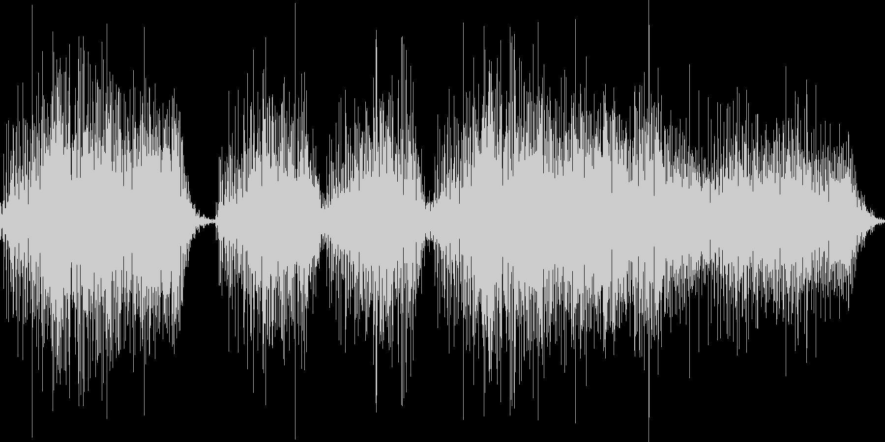 パンパカパーーーンの未再生の波形