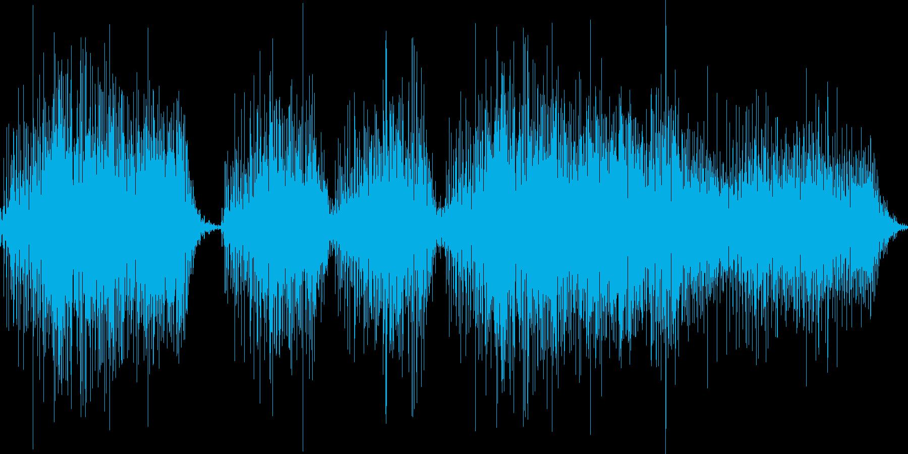 パンパカパーーーンの再生済みの波形
