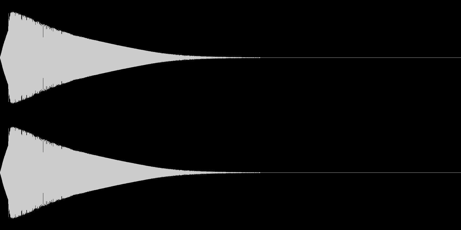 ビチューンの未再生の波形