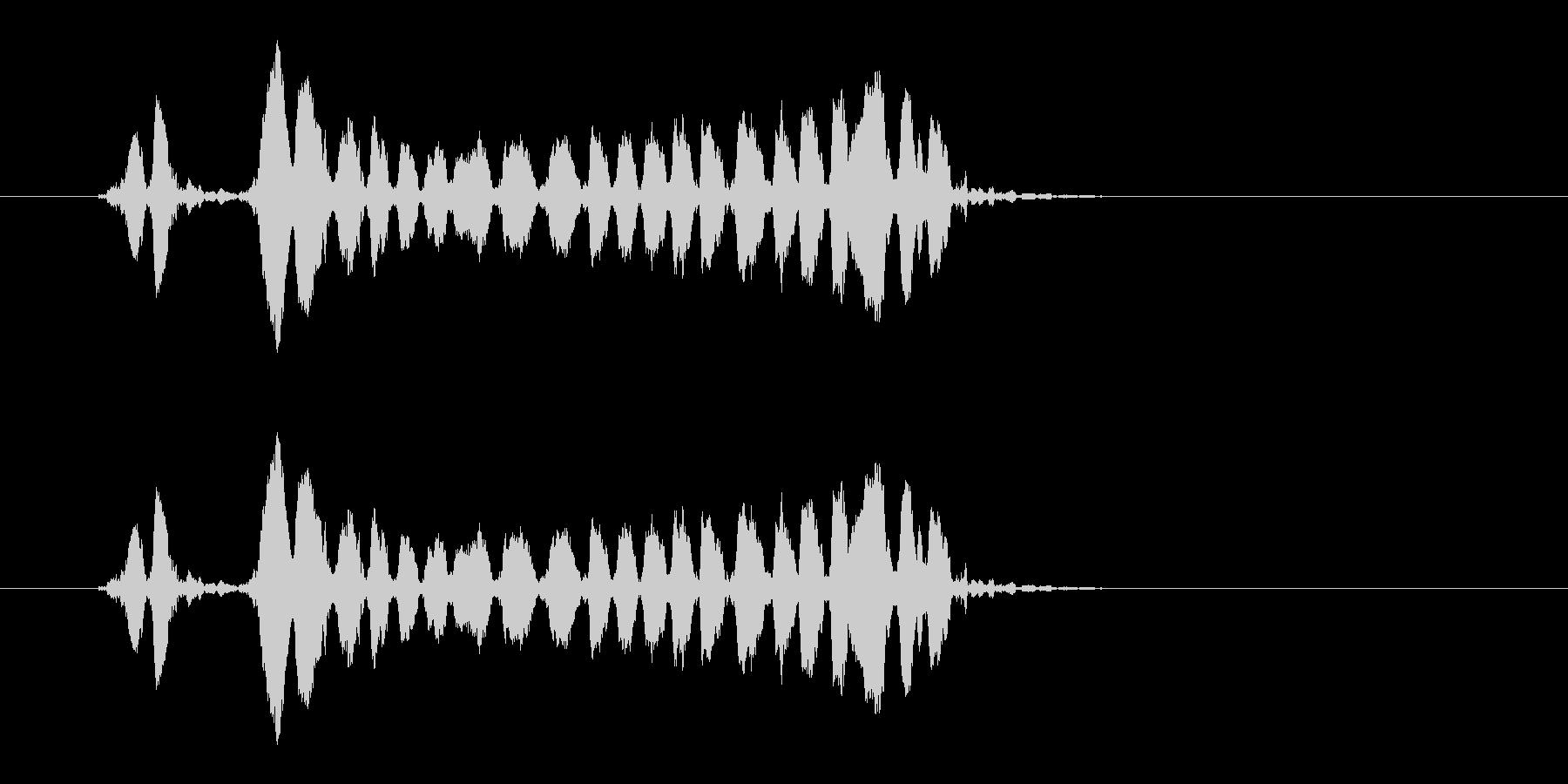 ホイッスルの音_05(ピピーッ!)の未再生の波形