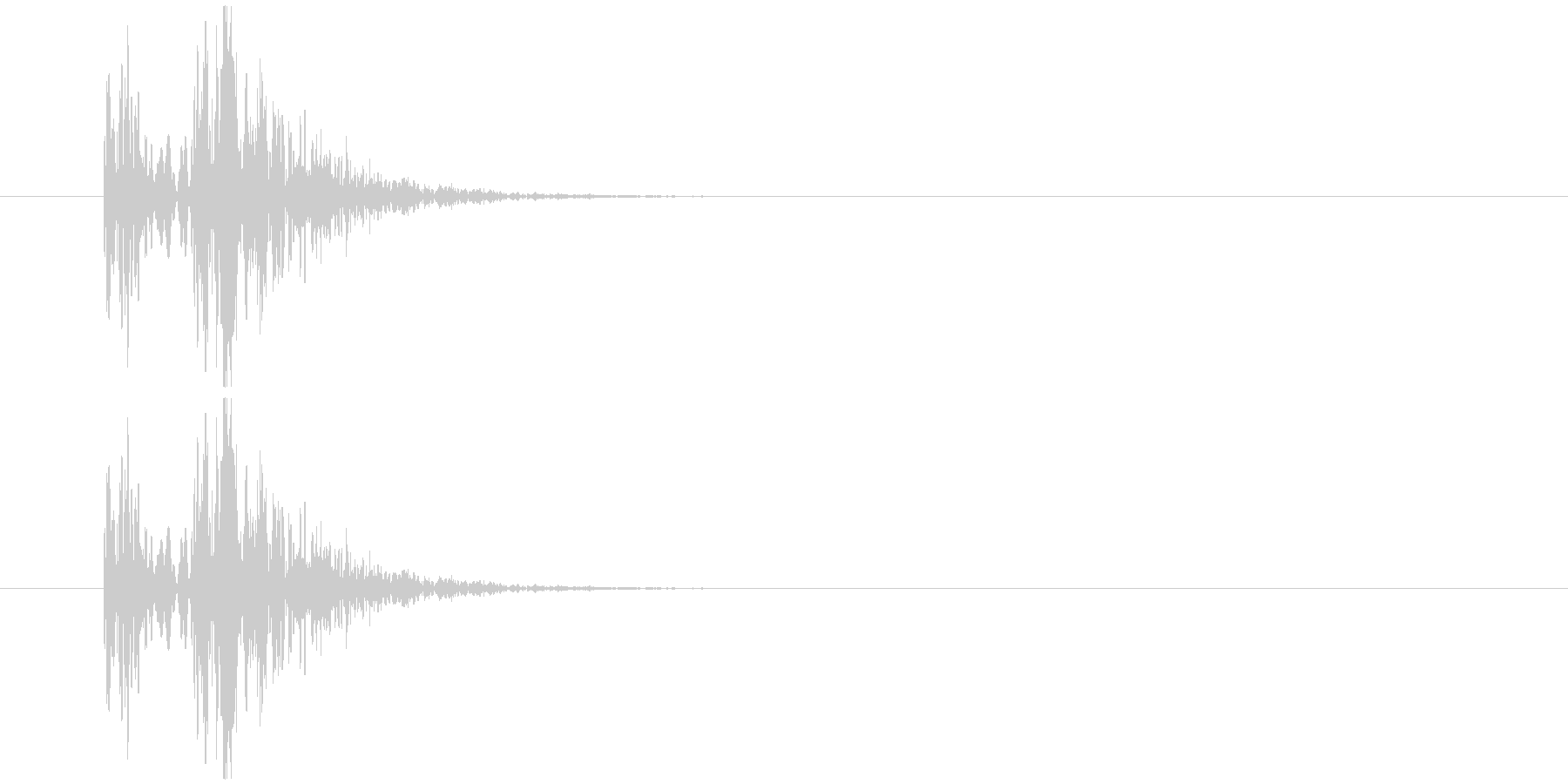コミカル動作_何かをあける他の未再生の波形