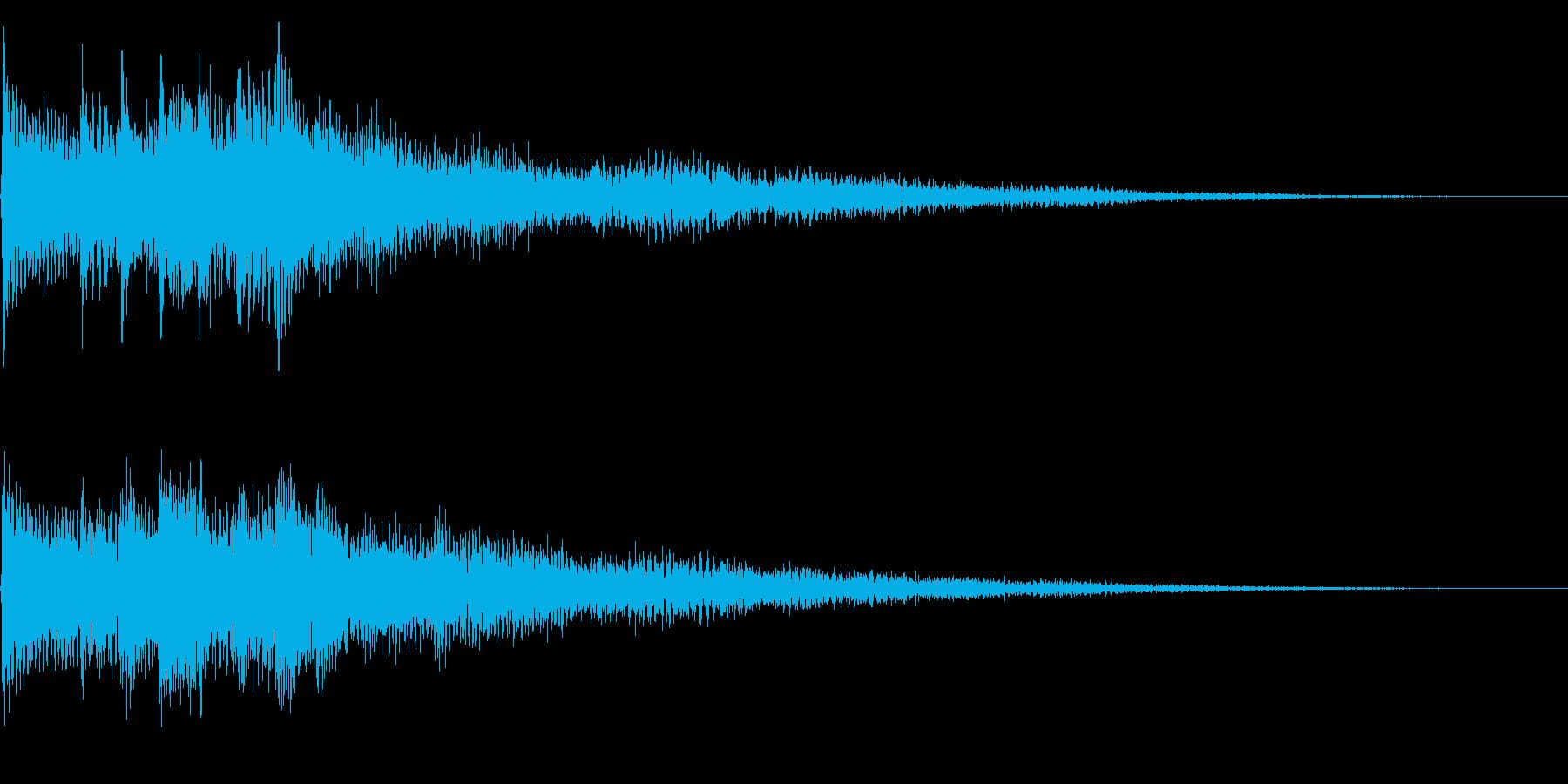 幻想的な場面転換音 クラシカルなフレーズの再生済みの波形