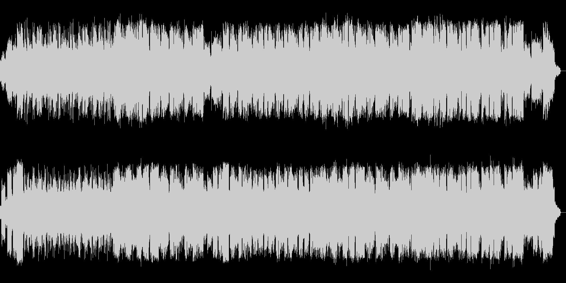 ピアノとサックスのまったりしたjazzの未再生の波形