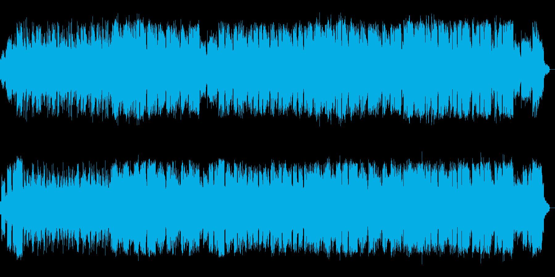 ピアノとサックスのまったりしたjazzの再生済みの波形