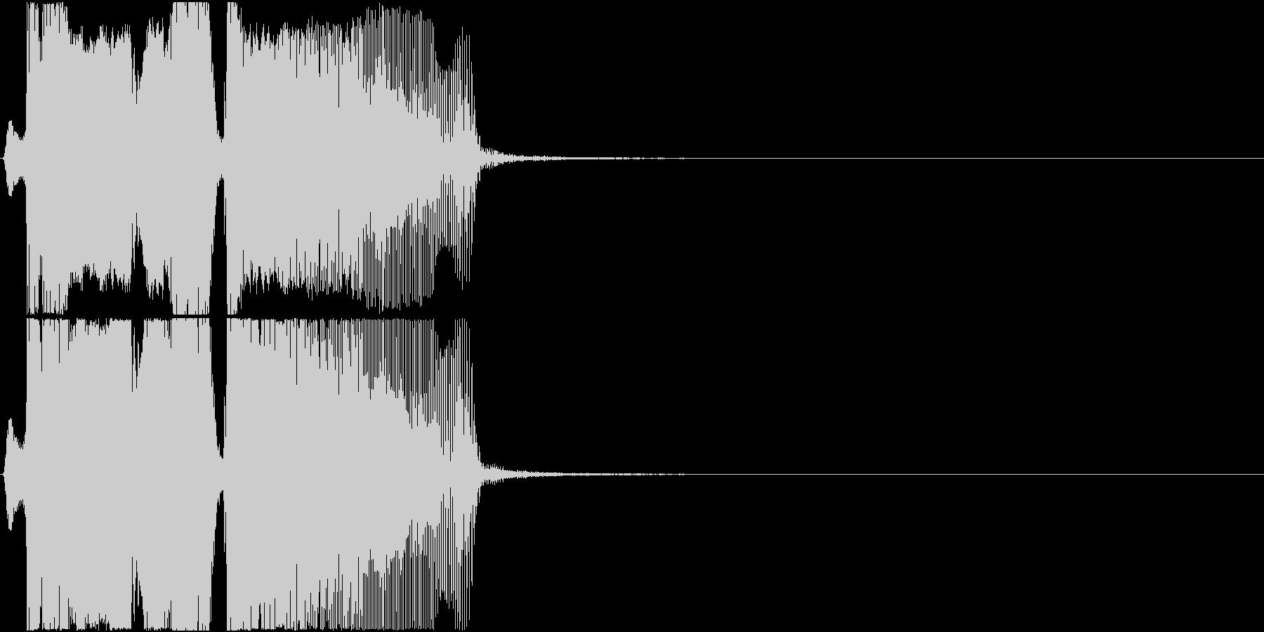「ボーナスタイム」アプリ・ゲーム用3の未再生の波形