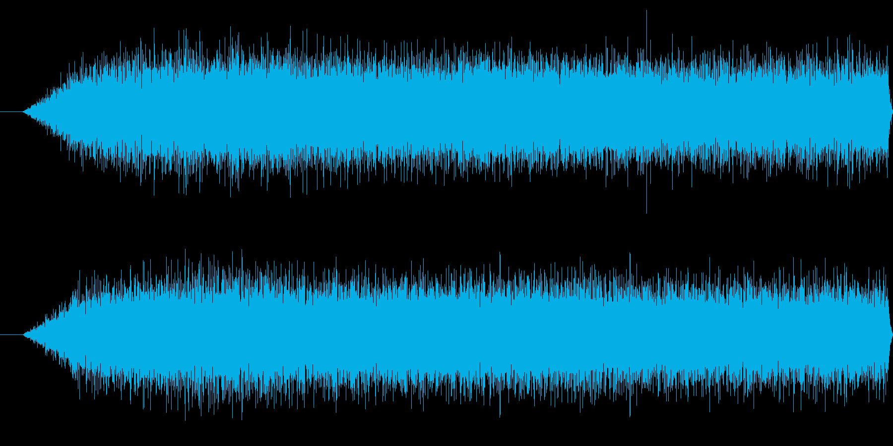 川(激しい)の再生済みの波形