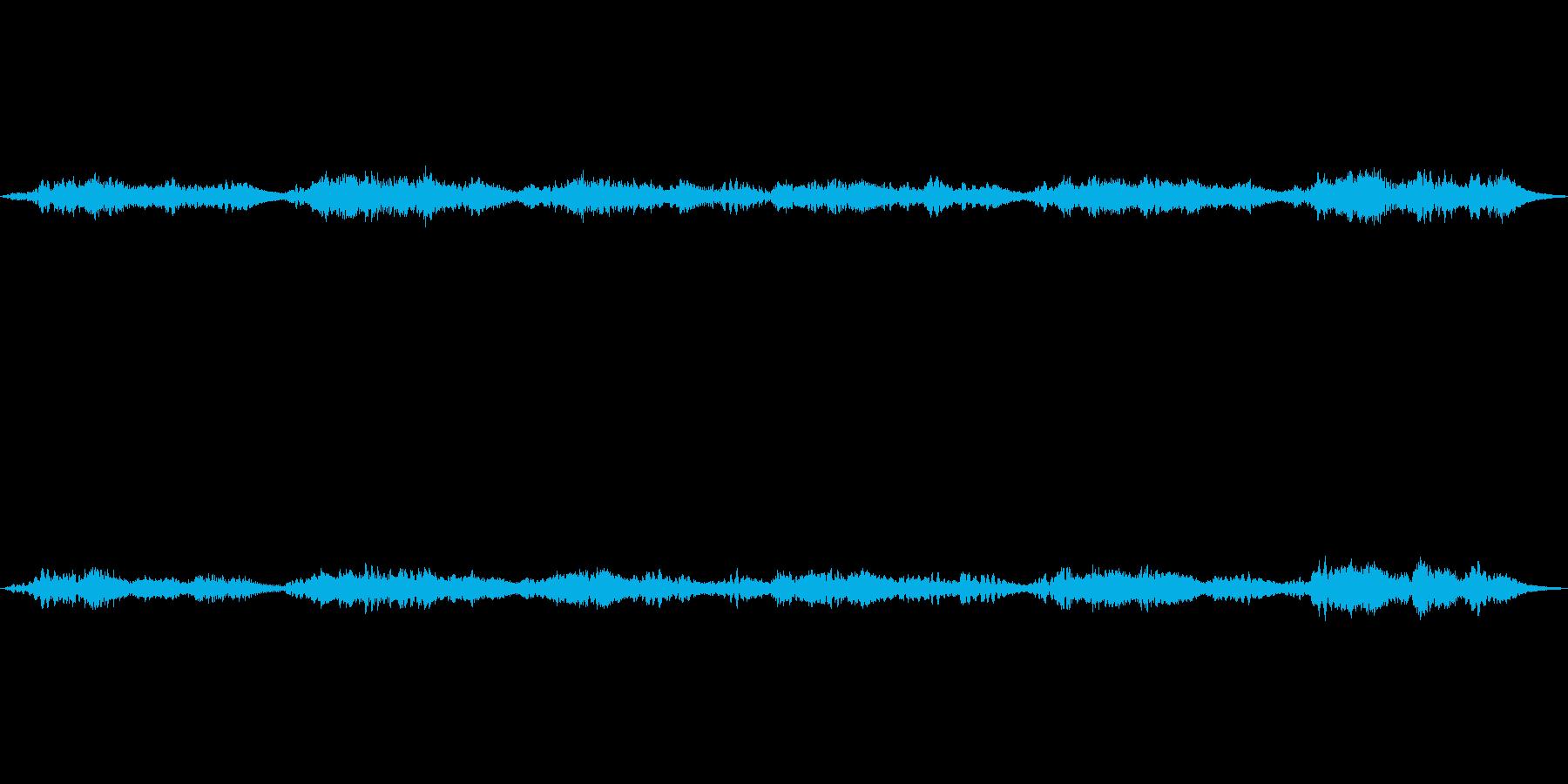(七つの子の逆再生エコー)の再生済みの波形
