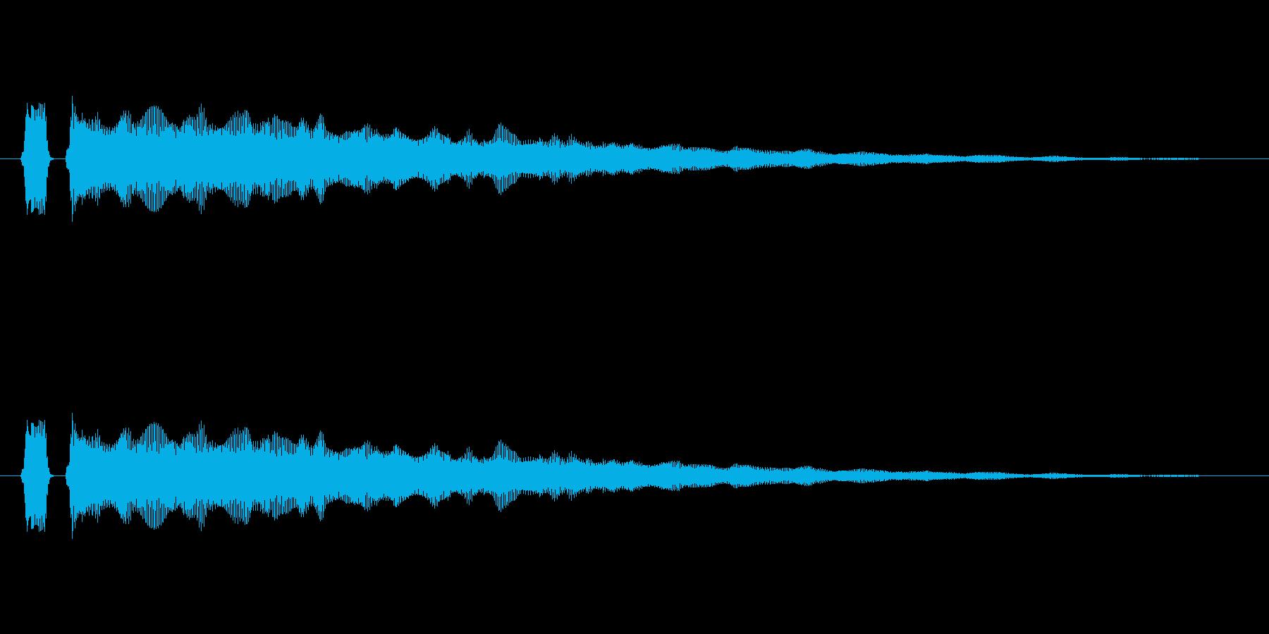 【フレーズ05-3】の再生済みの波形