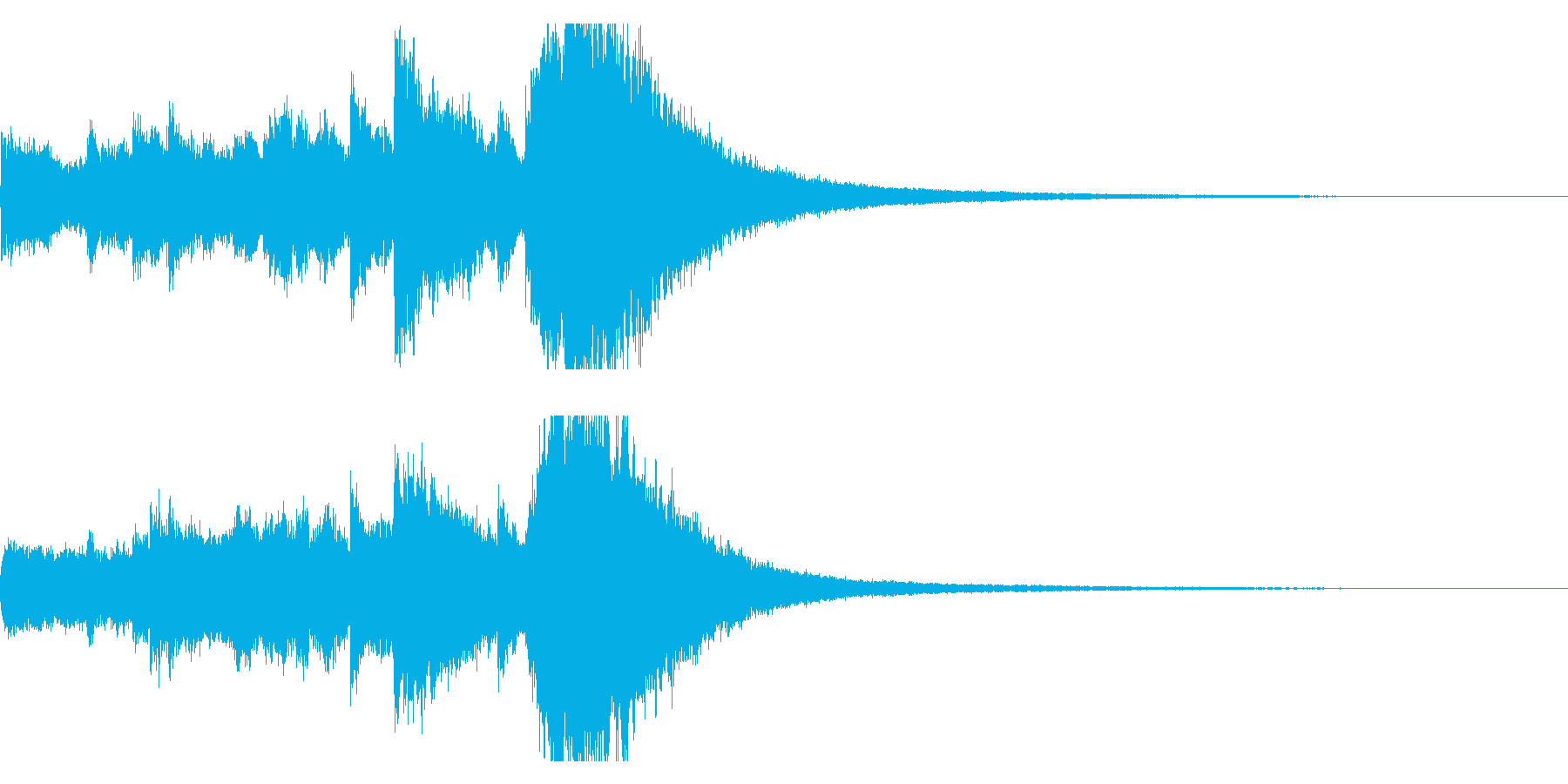 クリスマスベルのジングル,ロゴ!01の再生済みの波形