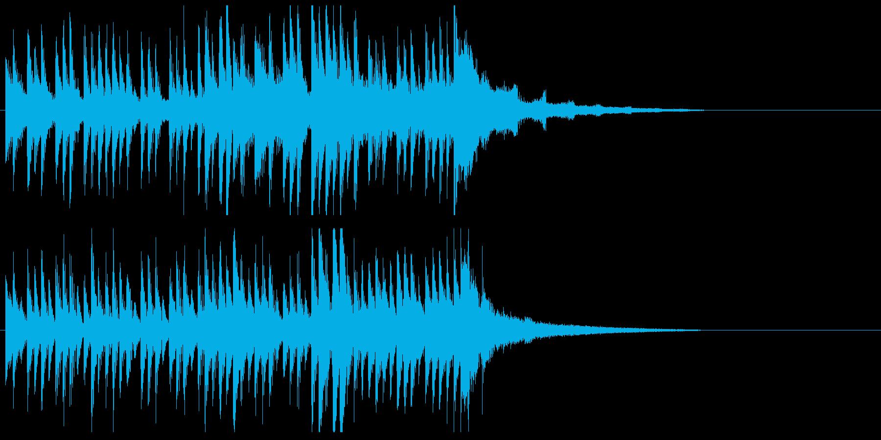 困難なミッションに挑むイメージ(15秒)の再生済みの波形