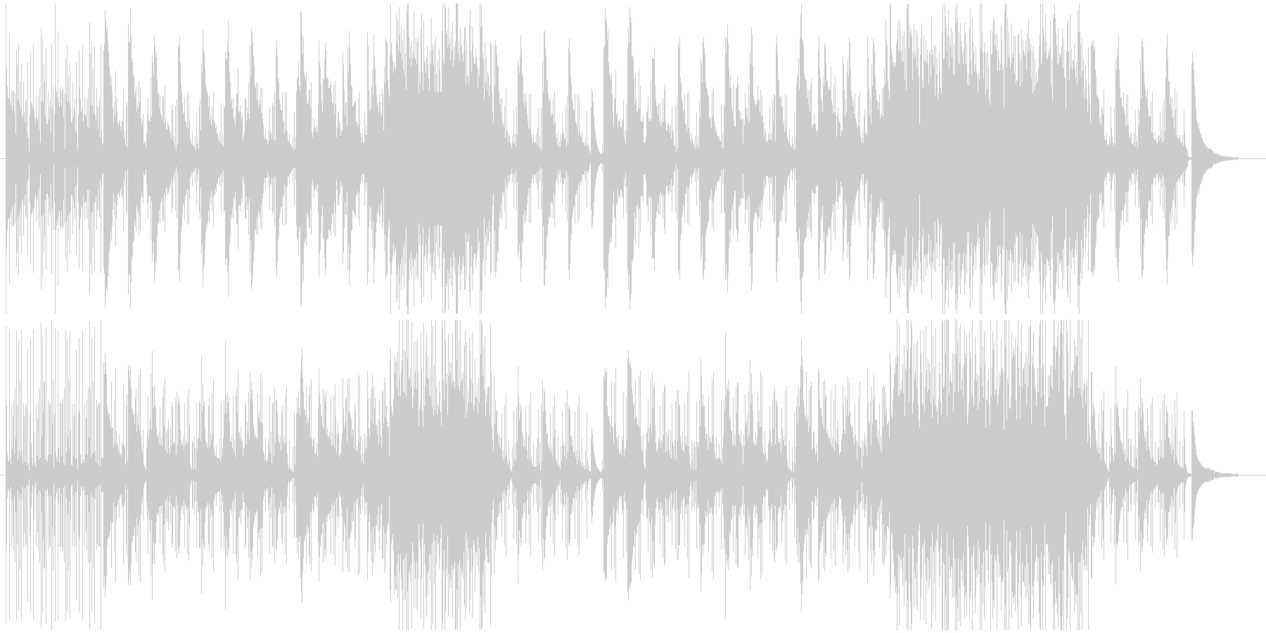 不思議な雰囲気のJazz-Popsの未再生の波形