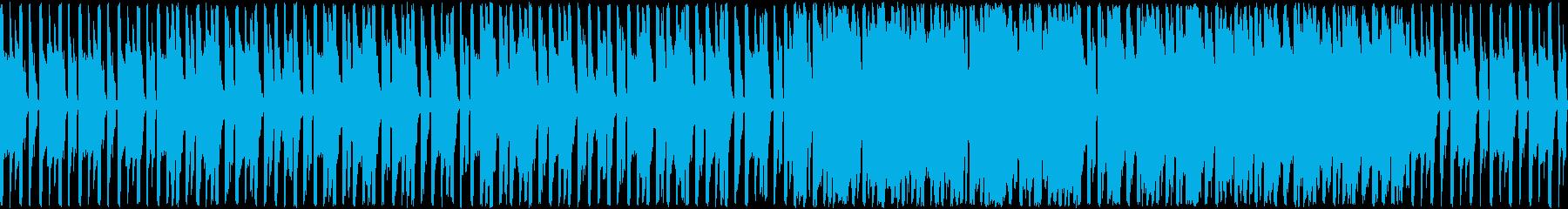 のんびりほのぼのなとのさま蛙のような楽曲の再生済みの波形