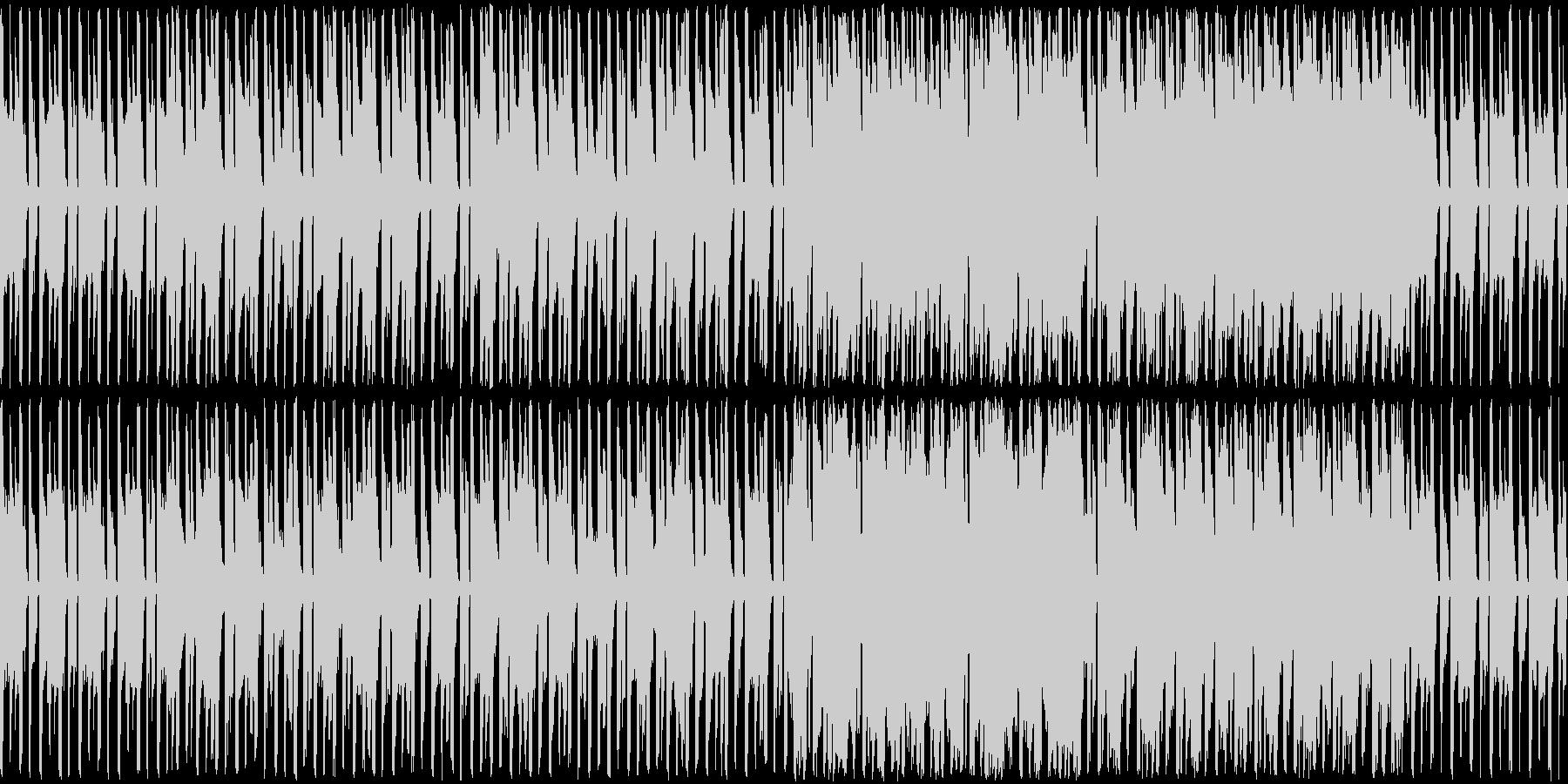 のんびりほのぼのなとのさま蛙のような楽曲の未再生の波形