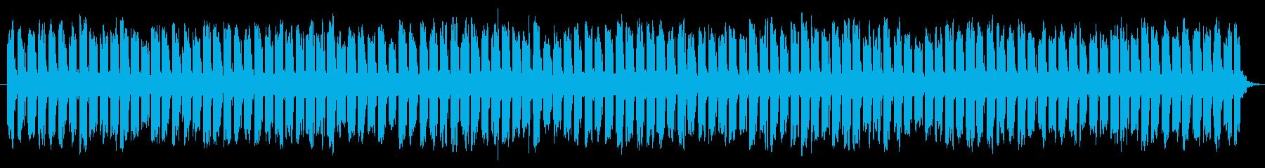 制限時間が迫ってくる効果音の再生済みの波形