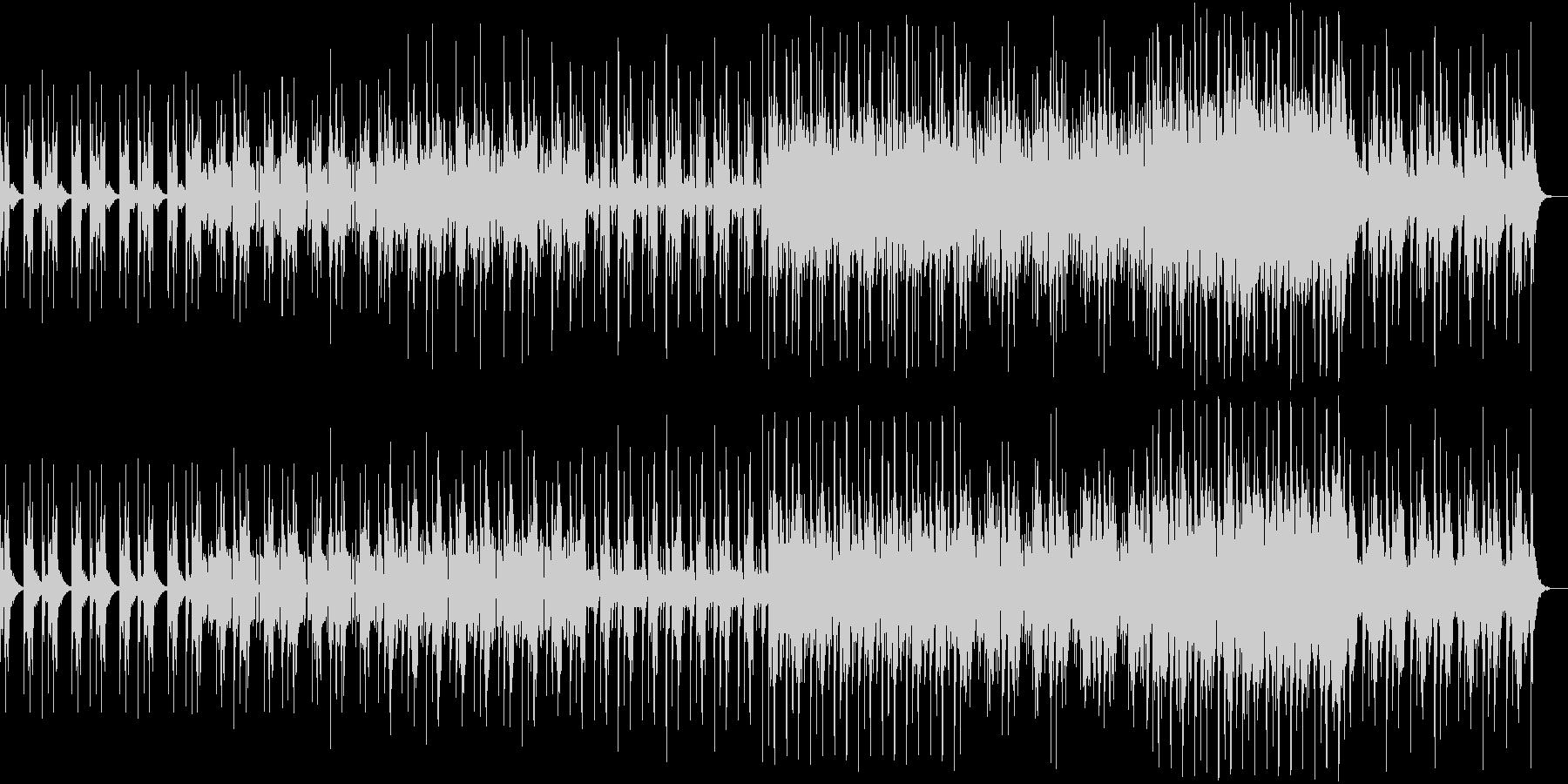 フューチャーリスティック・エレクトロの未再生の波形
