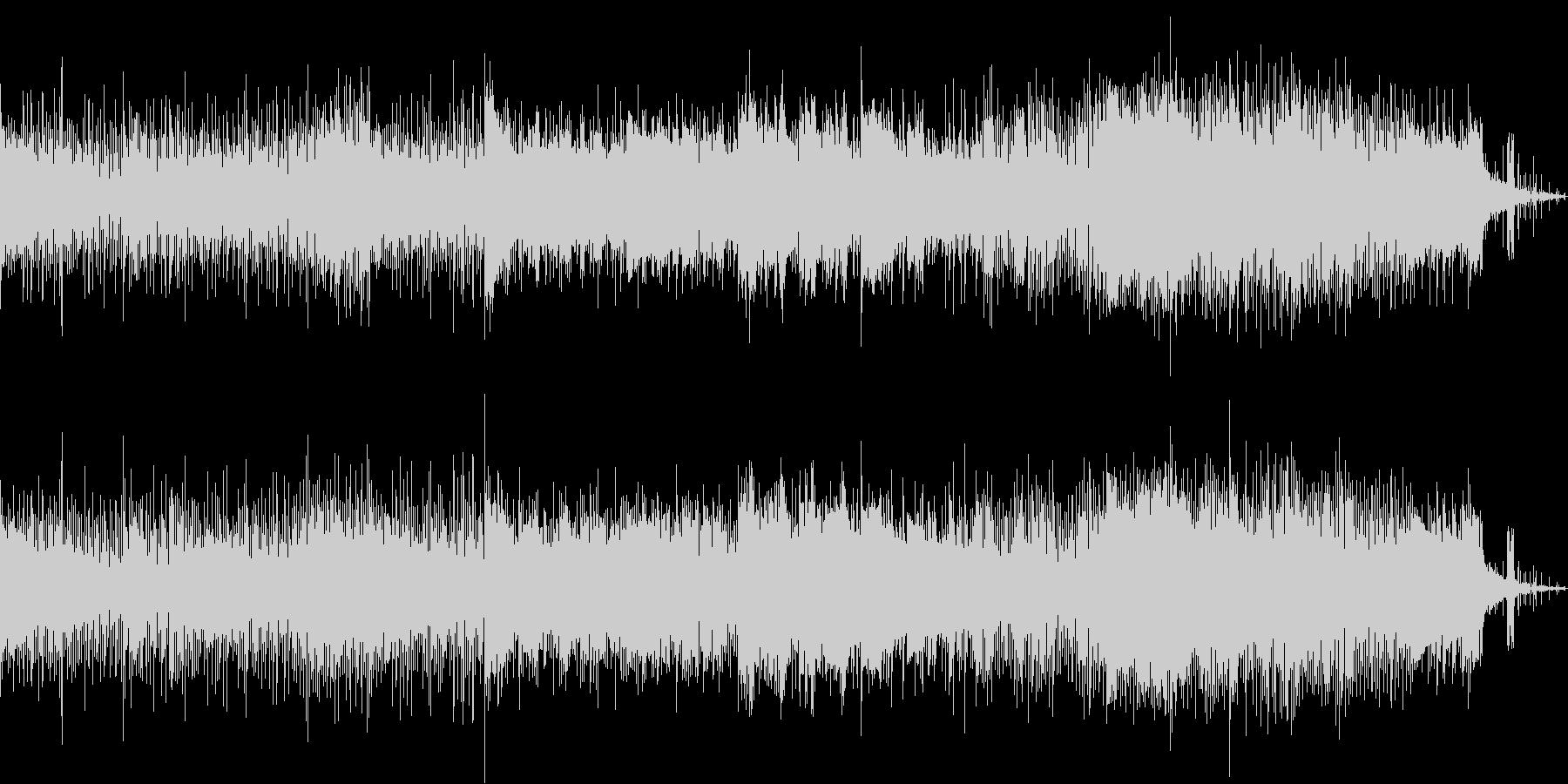 ハード、ノイジーなSFチックハードロックの未再生の波形