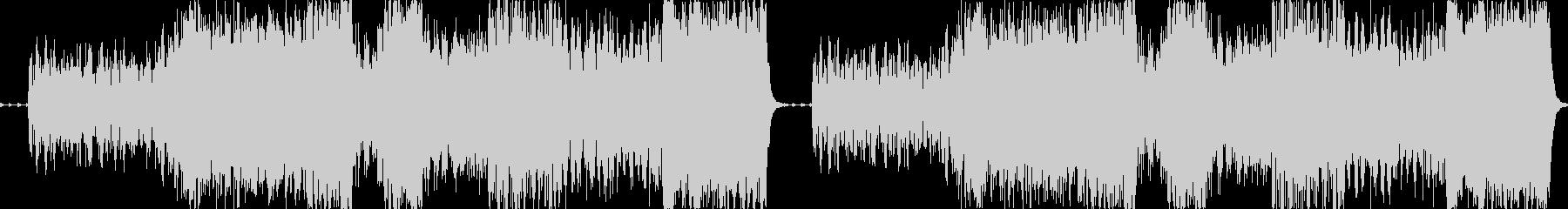 ハロウィンBGM:墓場での宴の未再生の波形
