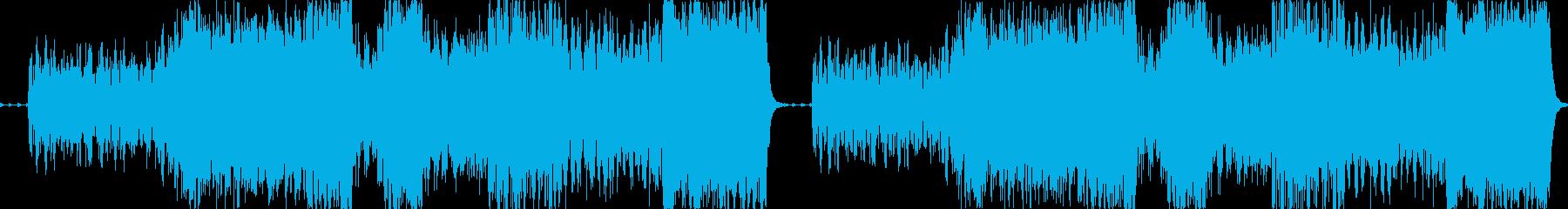 ハロウィンBGM:墓場での宴の再生済みの波形