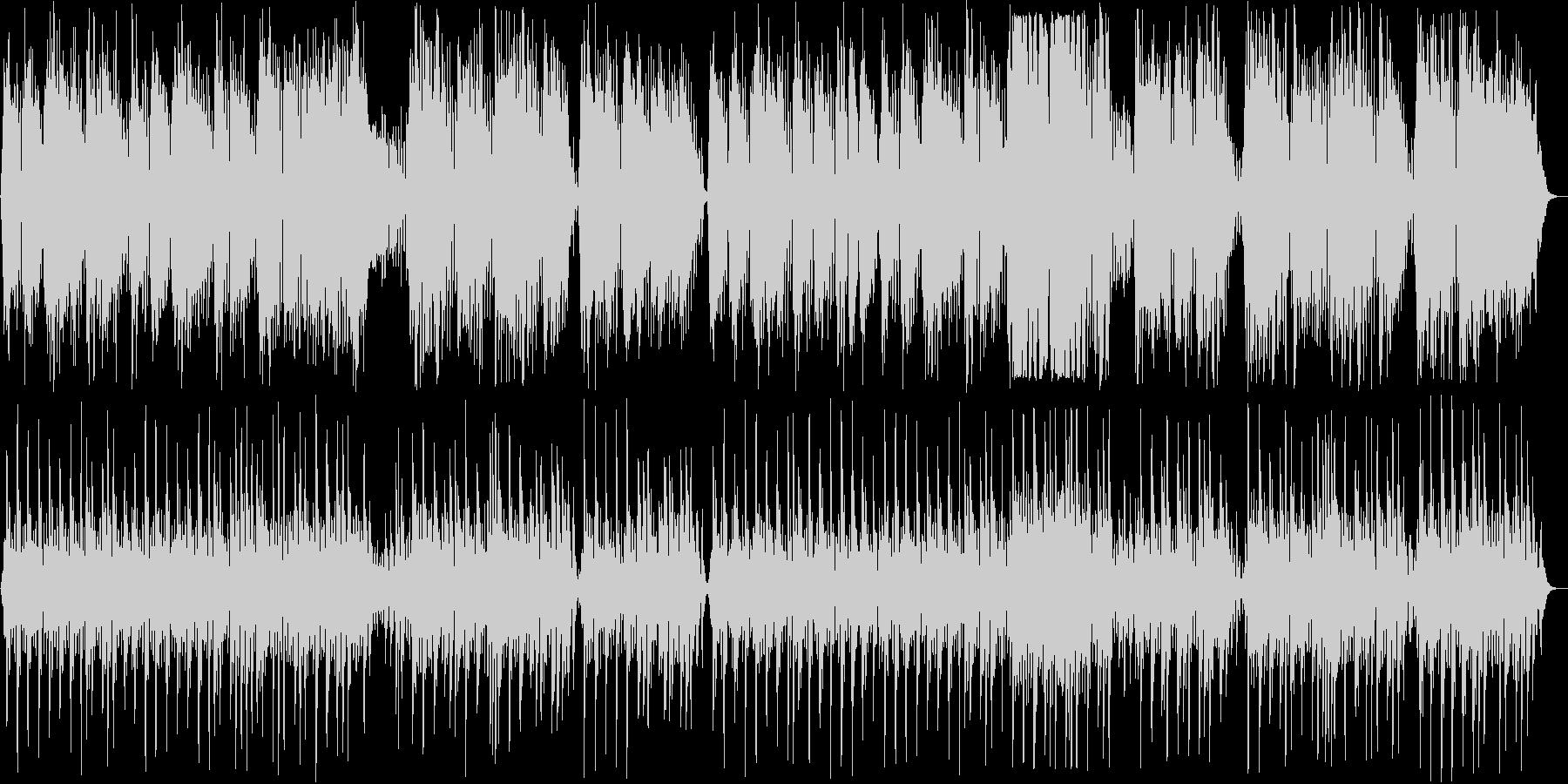 弦楽四重奏曲第17番第2楽章セレナーデの未再生の波形