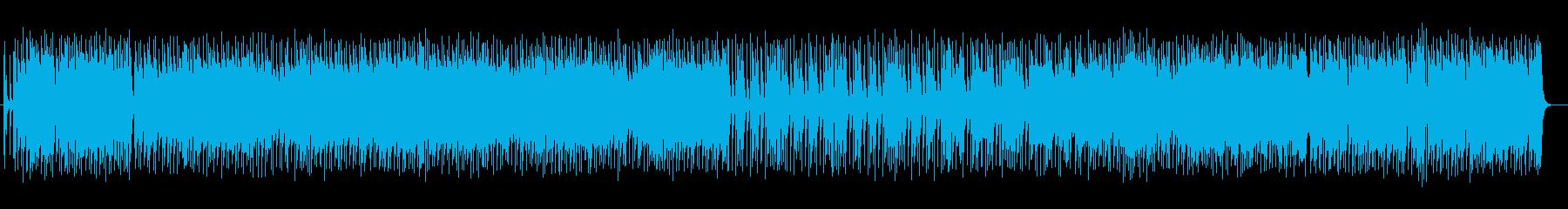 かっこいいギターソロのあるポップスの再生済みの波形