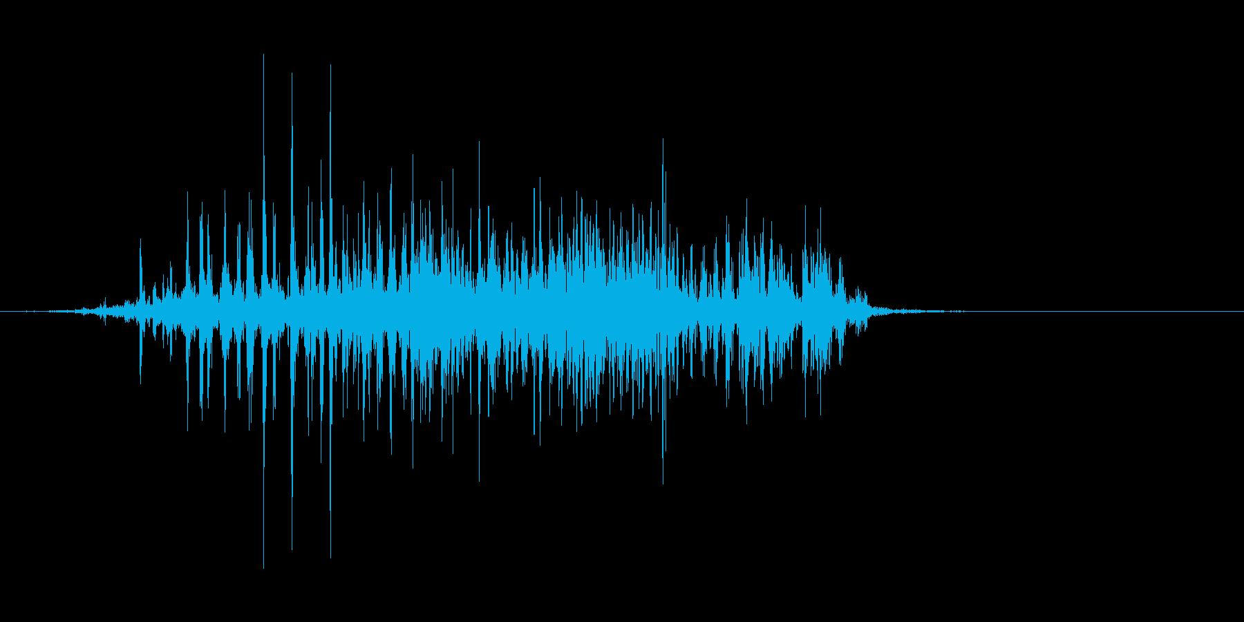 ズズーッ(すする、味噌汁、お吸い物)の再生済みの波形