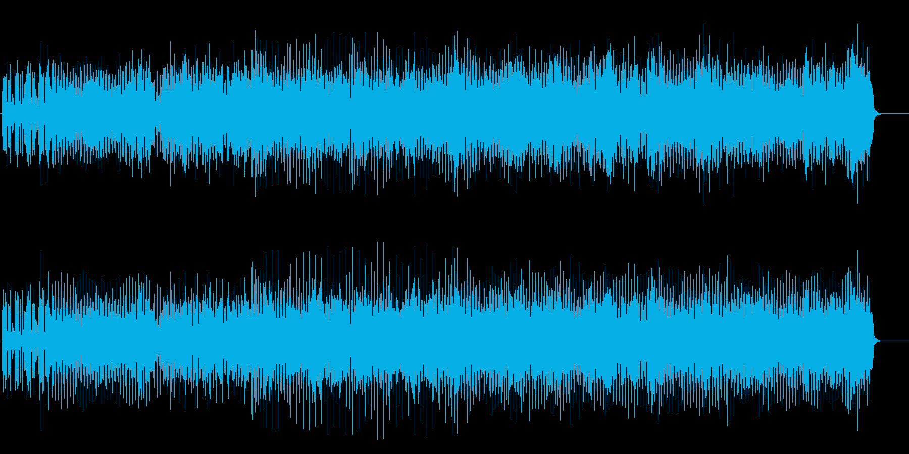 70'sオマージュ・ロックの再生済みの波形