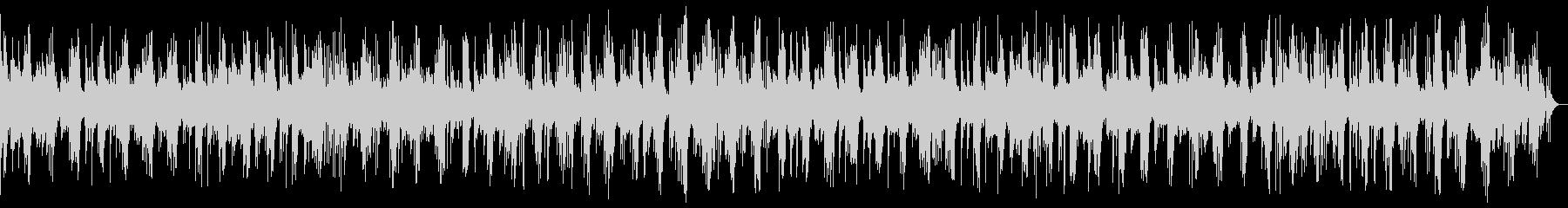 悠長で繊細なピアノヒーリング_効果音なしの未再生の波形