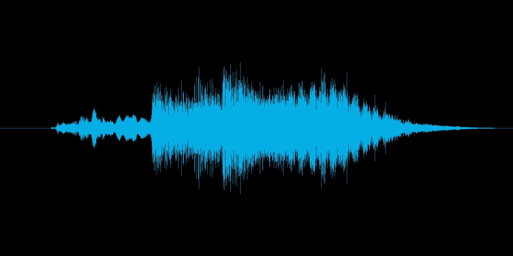 ファンタジー系効果音、ジングルの再生済みの波形