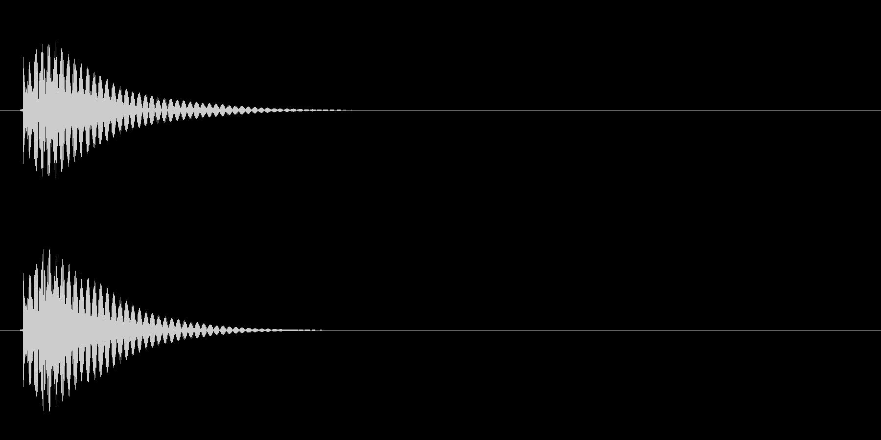 ゲーム等でのアイテム選択時にカーソルを…の未再生の波形