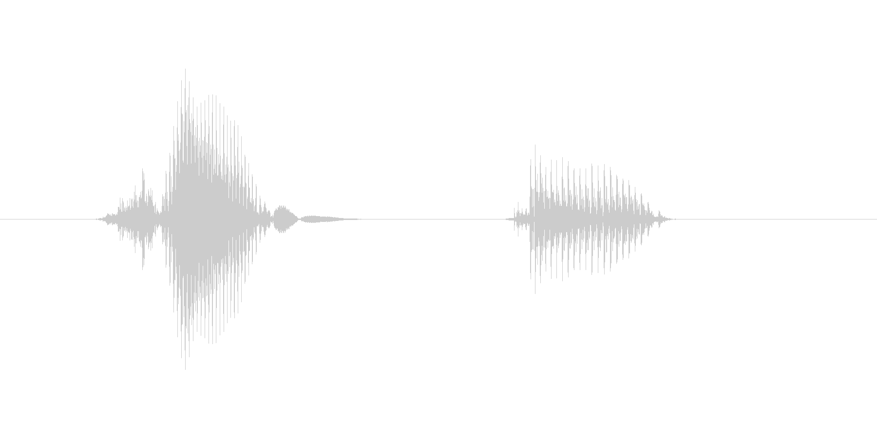 z,Z,Z(ゼット)の未再生の波形