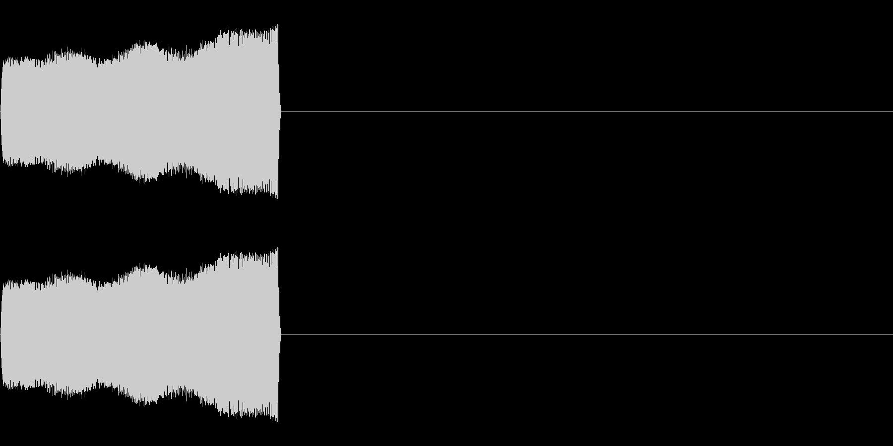 効果音 落ちる ピオピオの未再生の波形