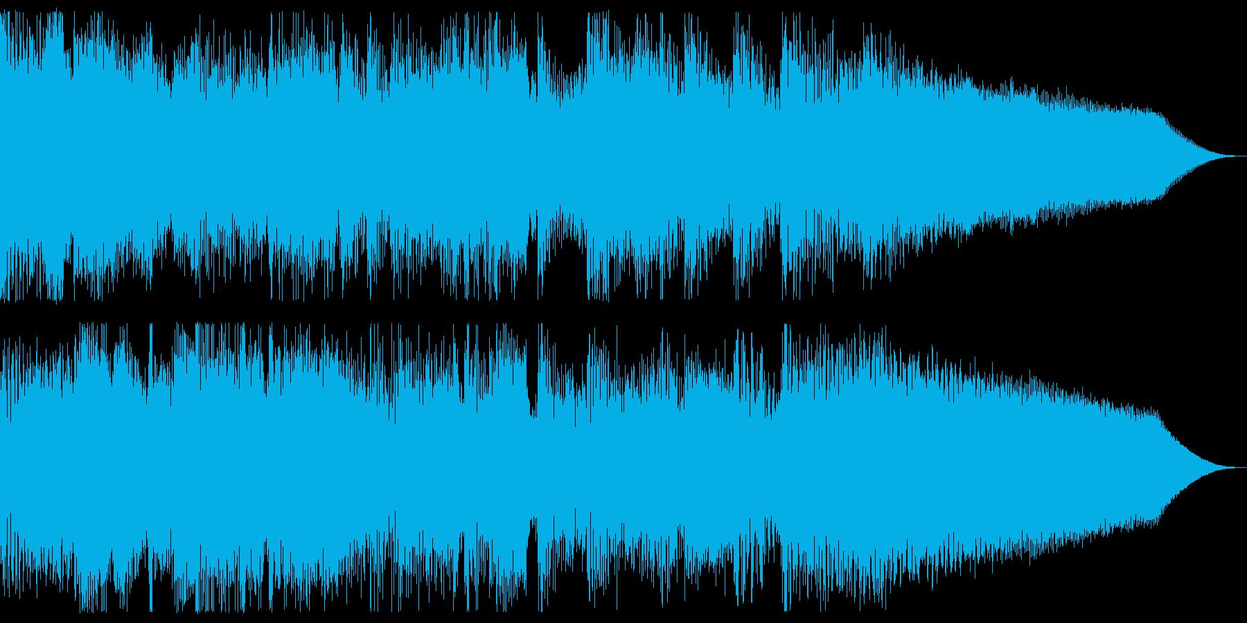 ♪爽やか商品紹介系ジングル♪の再生済みの波形