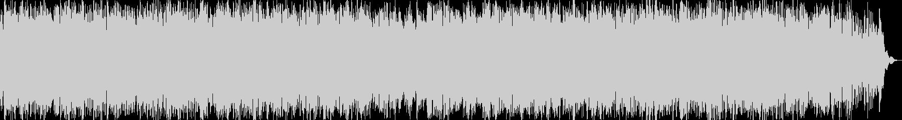 繰り返しのリラクゼーションミュージックの未再生の波形