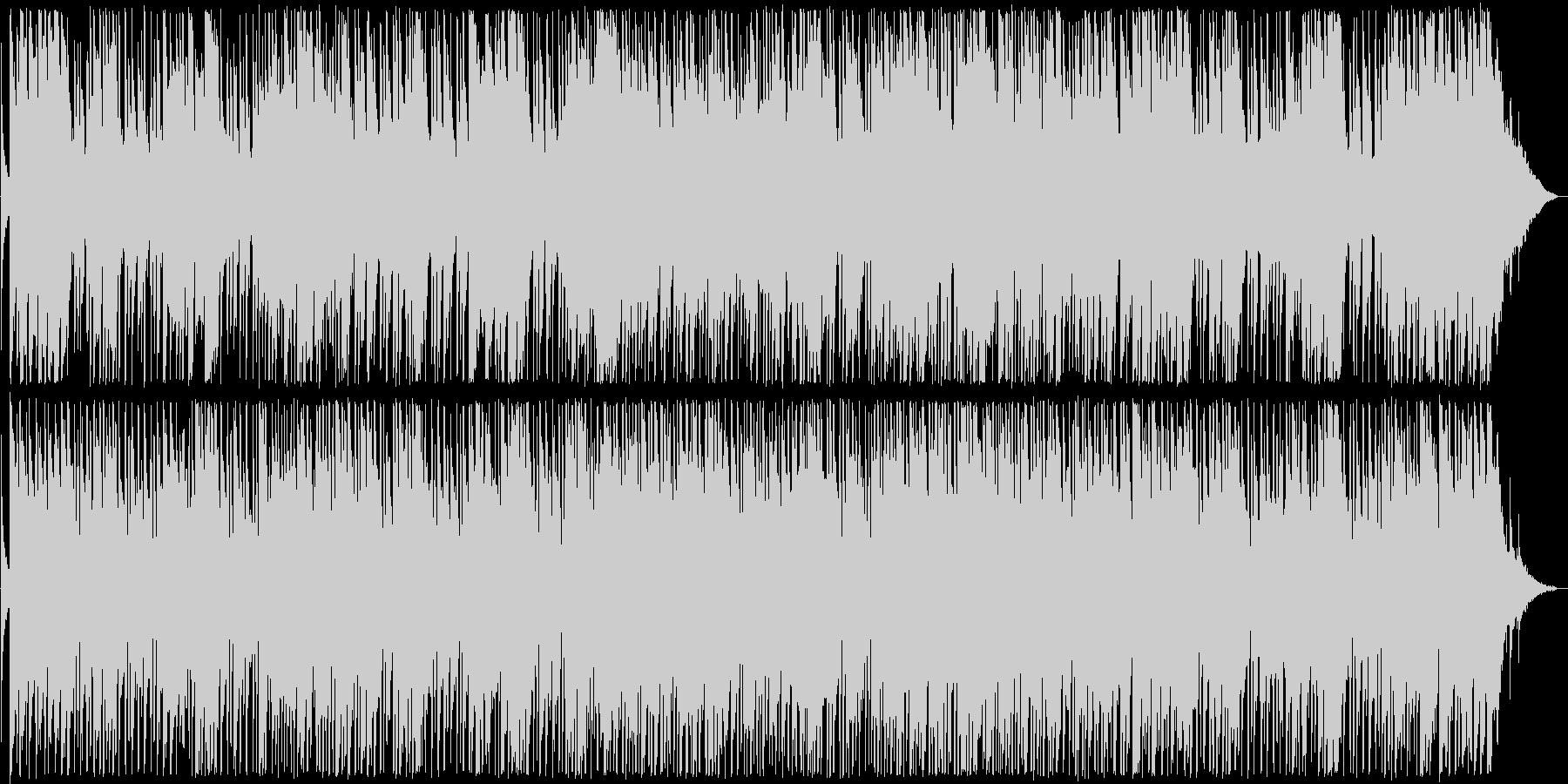 ゆったりとしたギターブルース系サウンドの未再生の波形