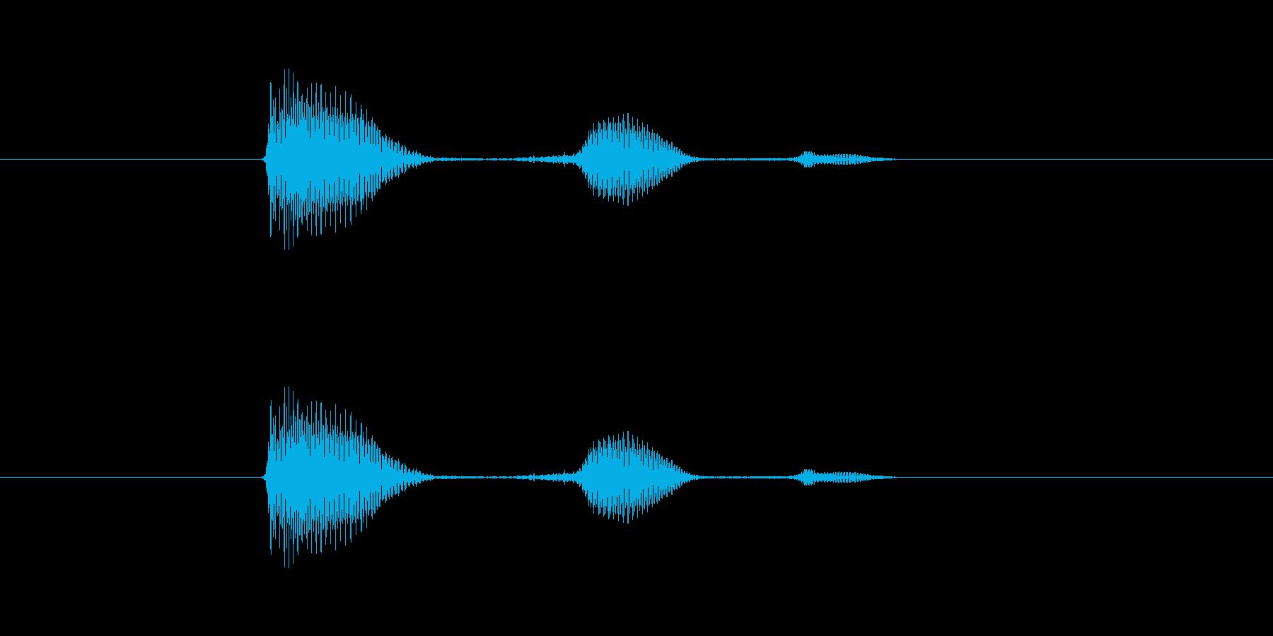 うふふの再生済みの波形
