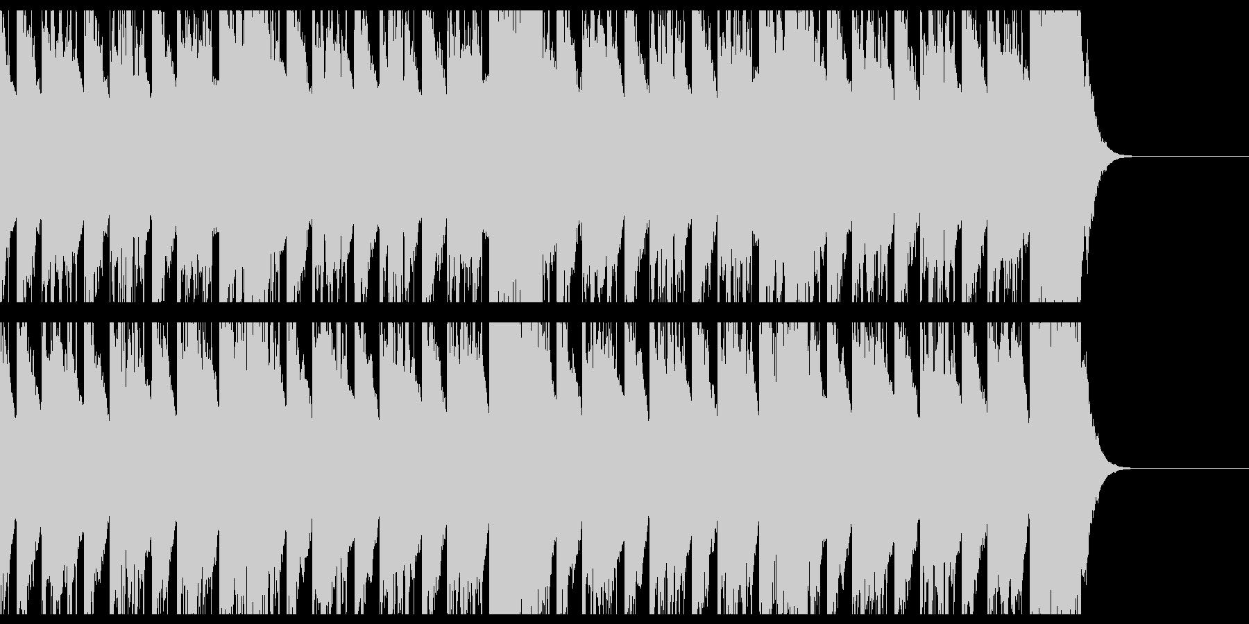 マフィア/オーケストラ/ショートの未再生の波形