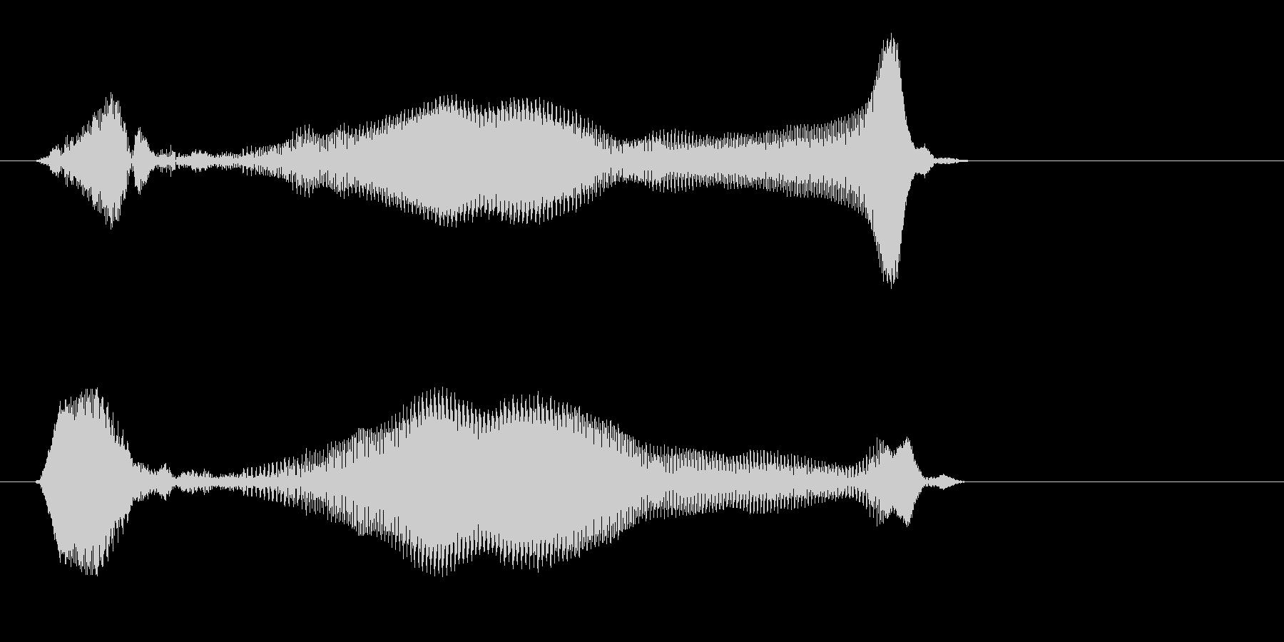 ミヤーッ(鳴き声系)の未再生の波形