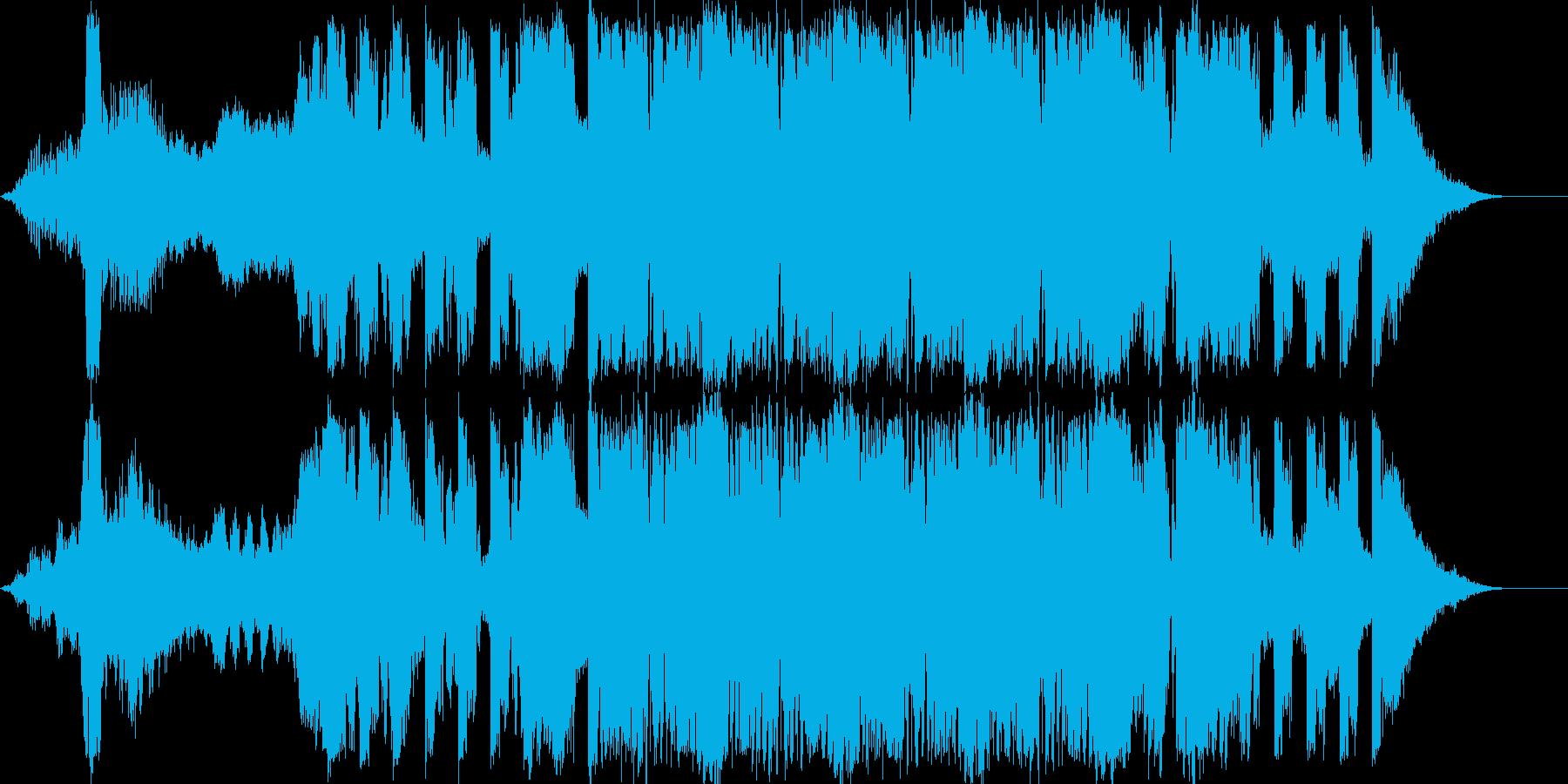 ハリウッド風[ アクション_SF_トレ…の再生済みの波形