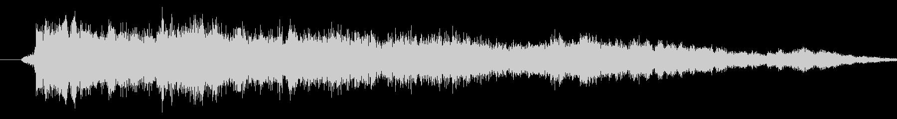 メニュー画面音(ウインドウ開閉など)01の未再生の波形