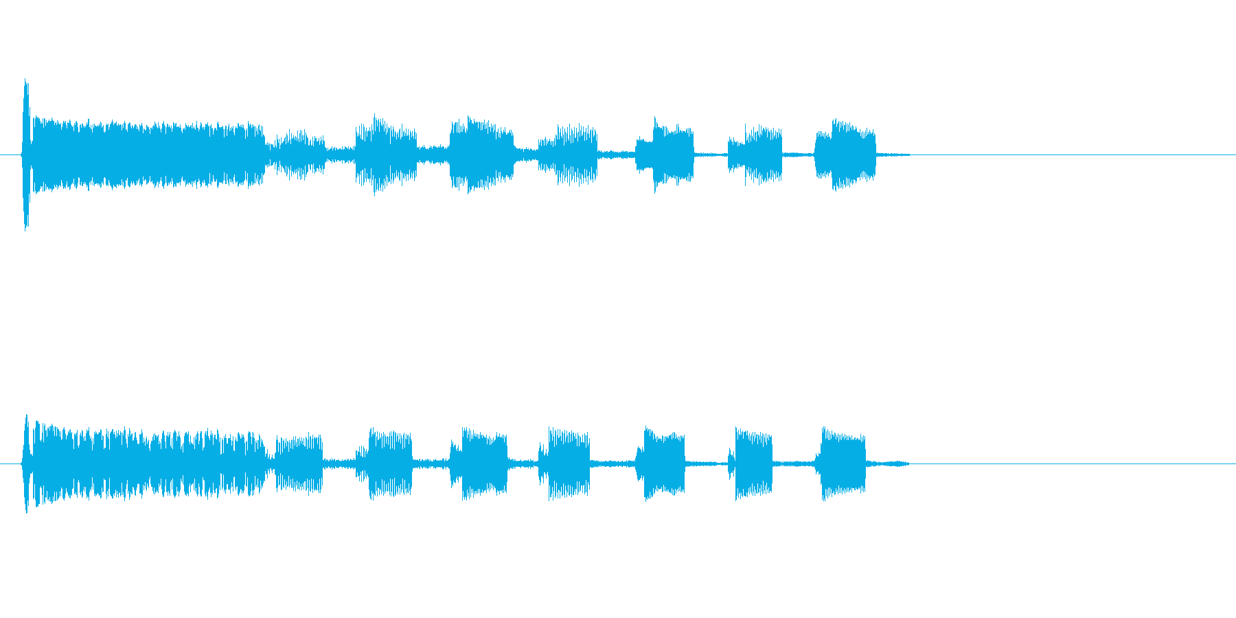 【SE ジングル】SF8の再生済みの波形