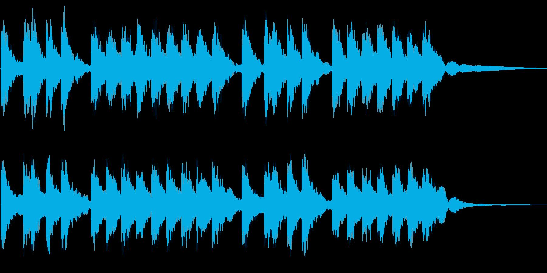 冬をイメージしたベル曲です。宜しくお願…の再生済みの波形