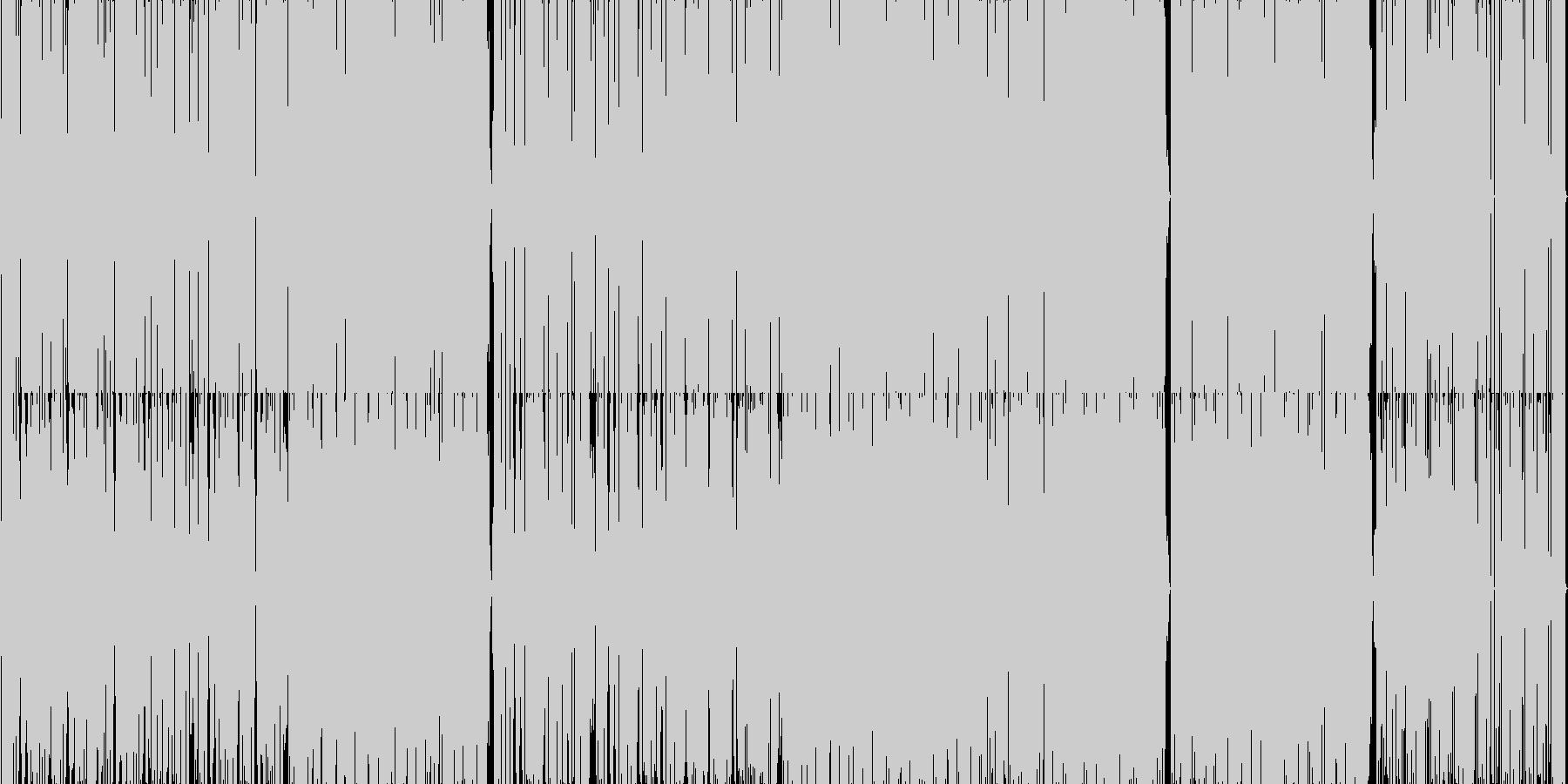 90年代のUsherな感じのR&B。の未再生の波形